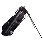 LONGRIDGE 6'' Weekend Stand Bag Silver Black